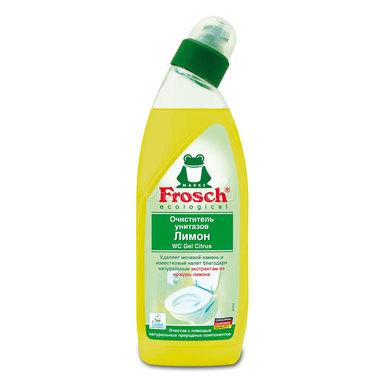 Очиститель унитазов Frosch 0,75 л Лимонный
