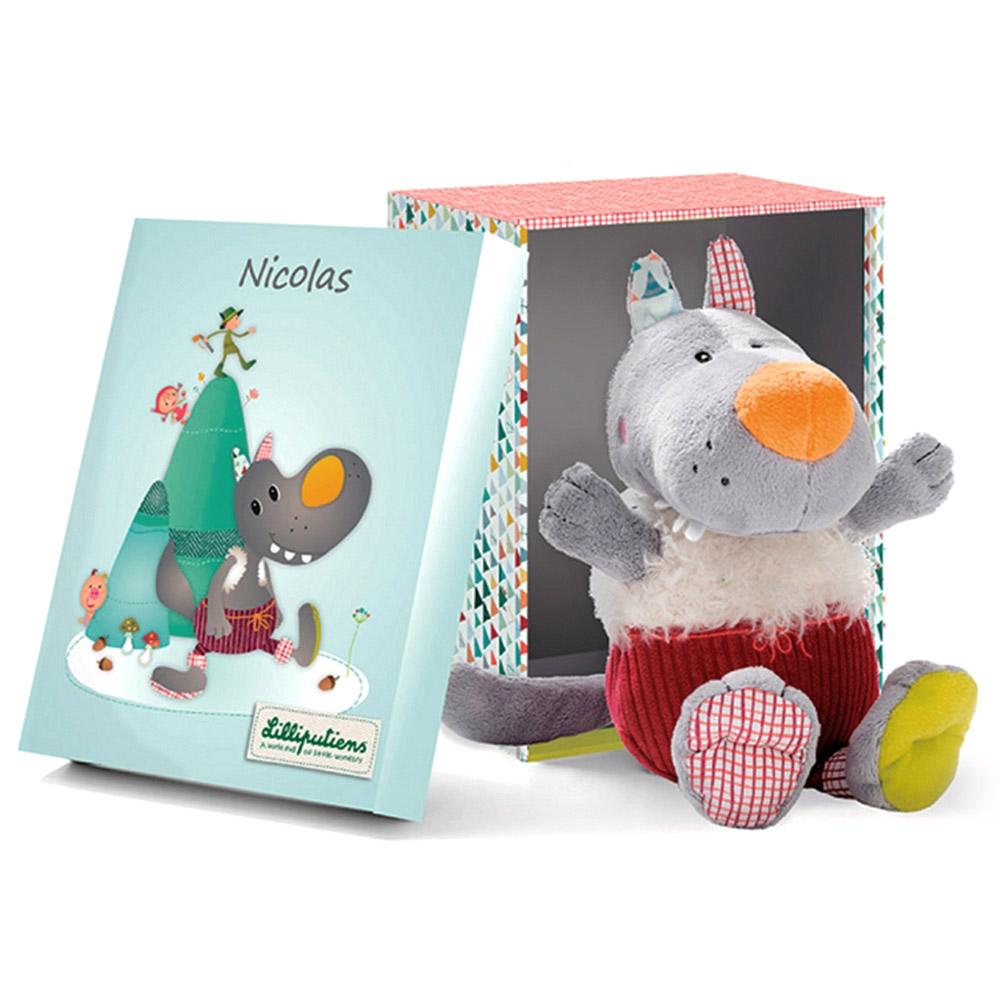 Игрушка Lilliputiens в подарочной упаковке Волк Николас<br>