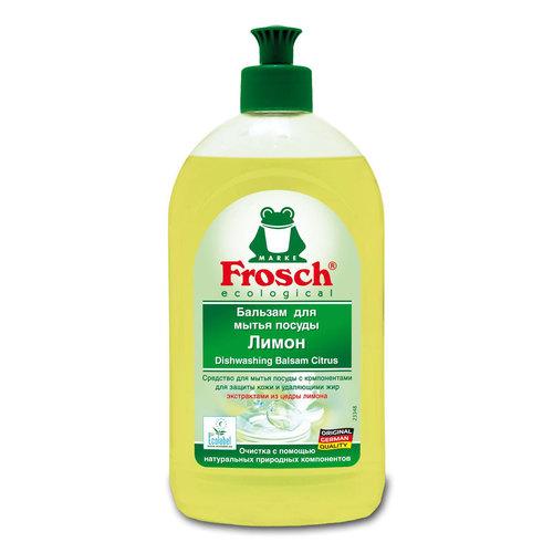 Бальзам Frosch для мытья посуды 0,5 л лимон