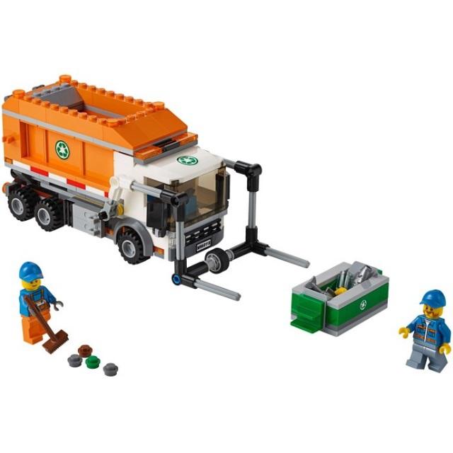 Конструктор LEGO City 60118 Мусоровоз<br>