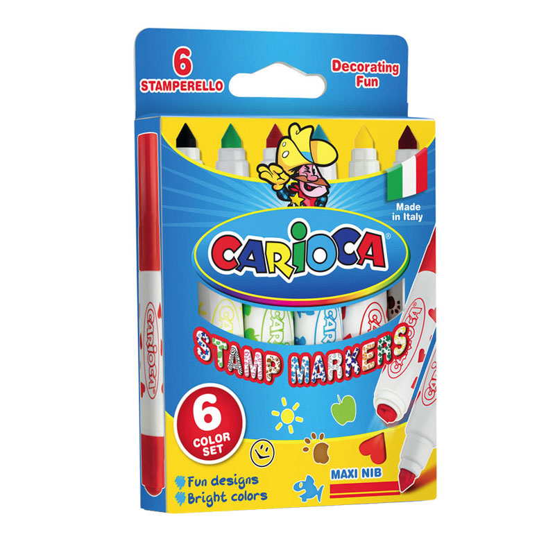 ����� ����������� UNIVERSAL CARIOCA STAMP MARKERS (6 ������)