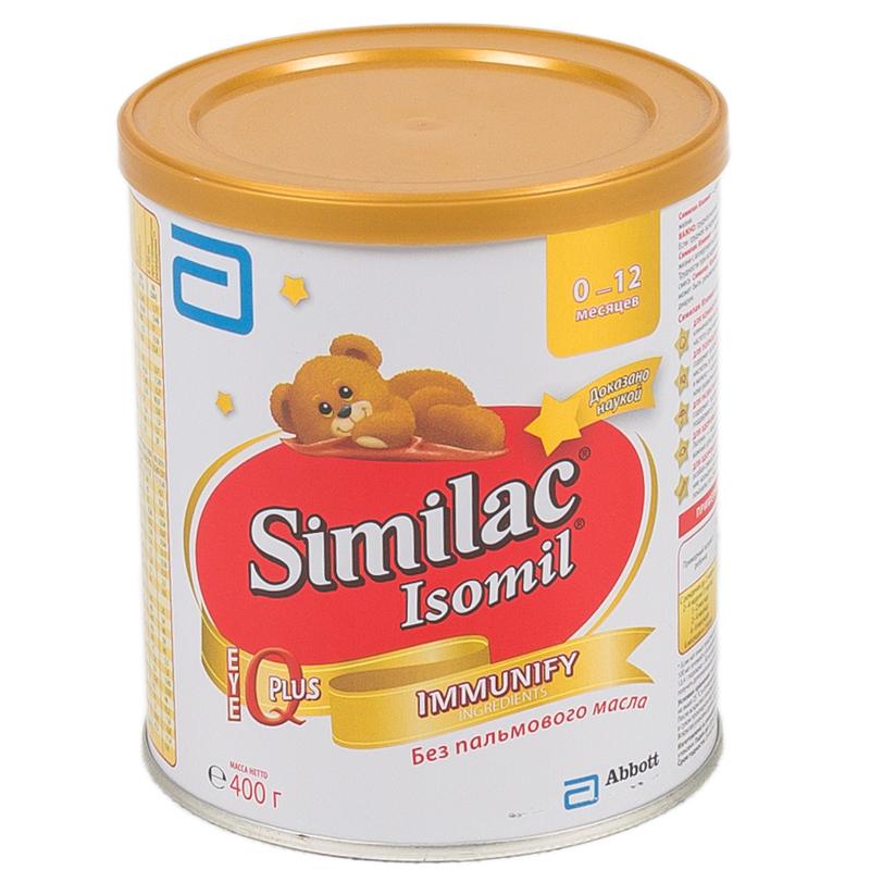 Заменитель Similac Изомил 400 гр с 0 мес<br>