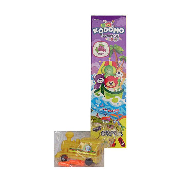 Зубная паста Kodomo Grape 45 гр с 6 мес + игрушка<br>