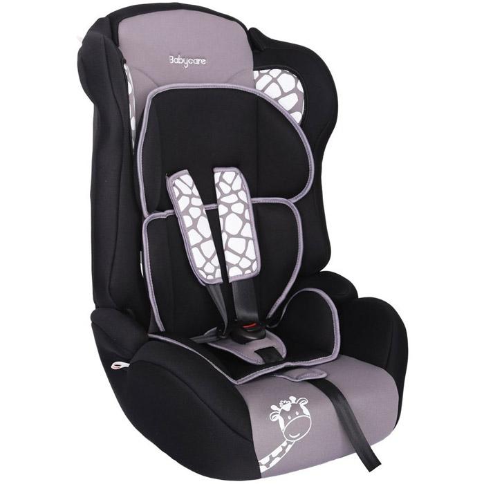 Автокресло Baby Care BC-513 Люкс Жирафик Серый<br>