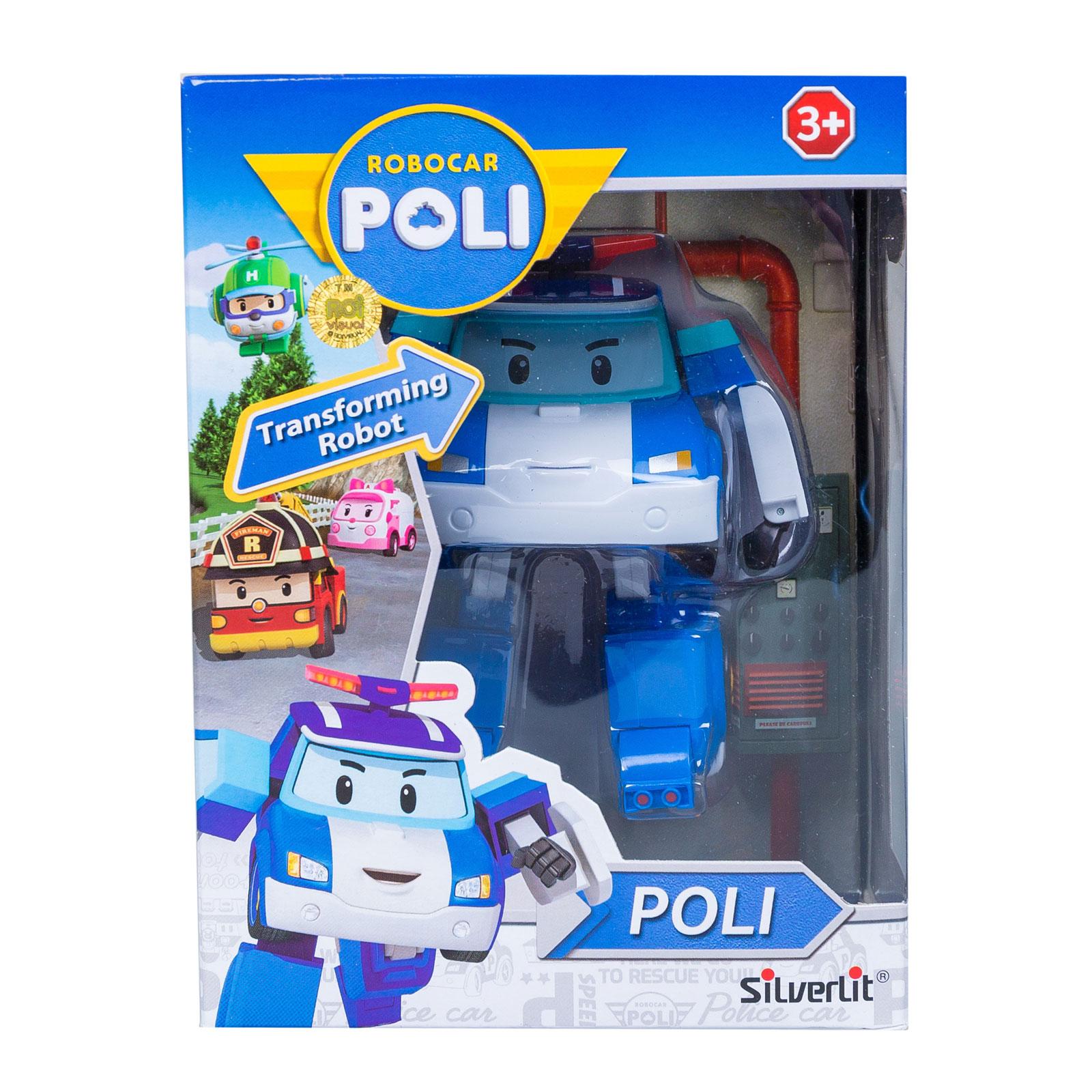 Машинки-трансформер Silverlit Poli Robocar Полицейская (с 3 лет)<br>