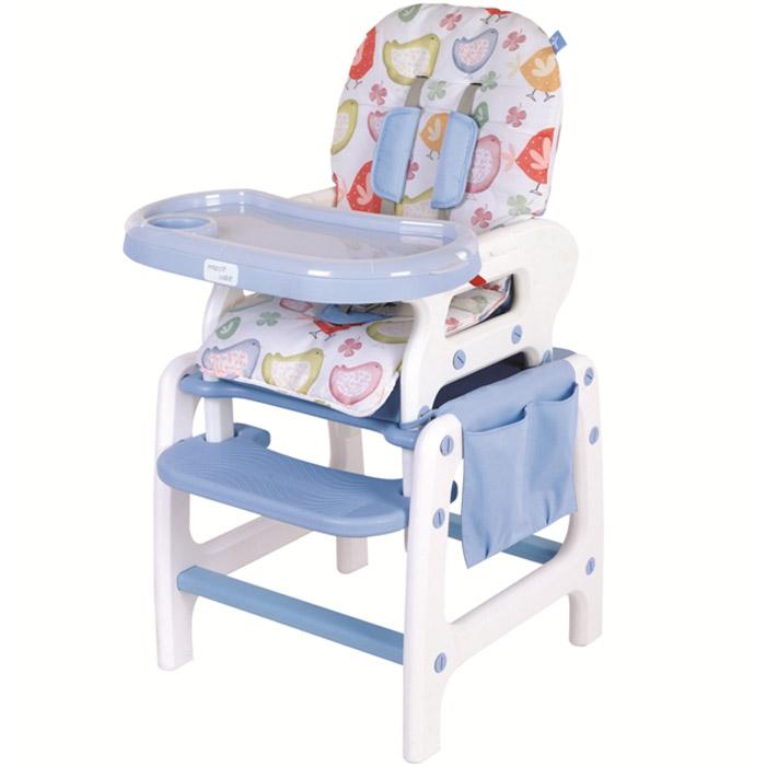 Стульчик для кормления Happy Baby Oliver Sky Blue