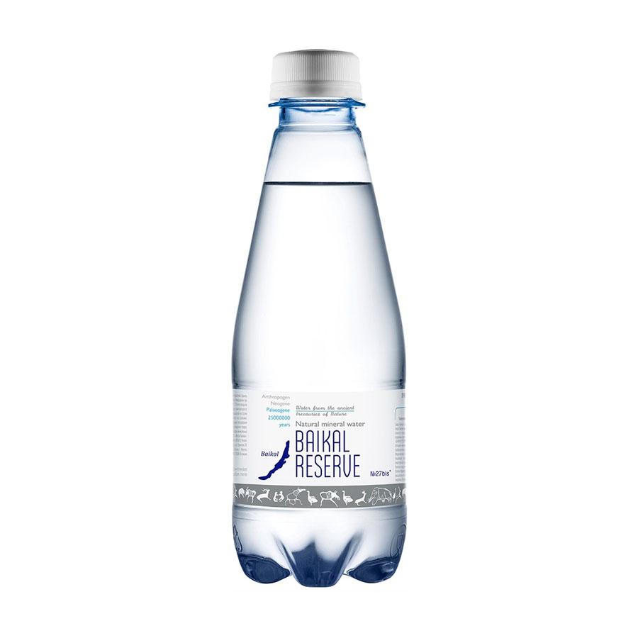 Вода минеральная Байкал Резерв Baikal RESEVE Газированная 0,28 л (пластик)<br>