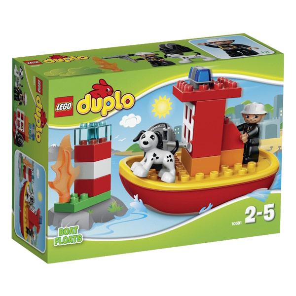 Конструктор LEGO Duplo 10591 Пожарный катер<br>