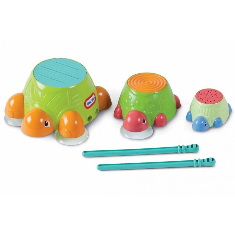 Игрушка Little Tikes Для ванны Черепашки-барабаны<br>