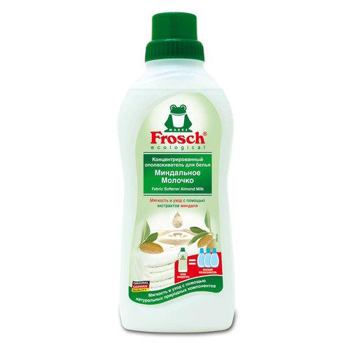 Концентрированный ополаскиватель Frosch для белья 0,75 л Миндальное молочко<br>