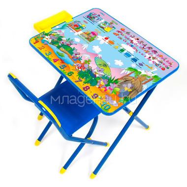 Набор мебели стол и стул Дэми №3 Синий Лимпопо