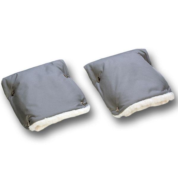 Муфты-рукавички Чудо-Чадо меховые Серые<br>
