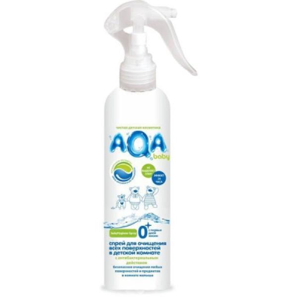 Спрей для всех поверхнеостей AQA baby в детской комнате 300 мл<br>