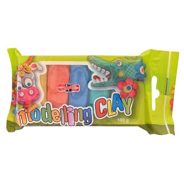 Пластилин KOH-I-NOOR Детский 5 цветов 100 гр