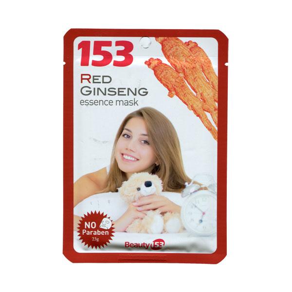 Маска тканевая Beauty 153 с экстрактом красного женьшеня<br>