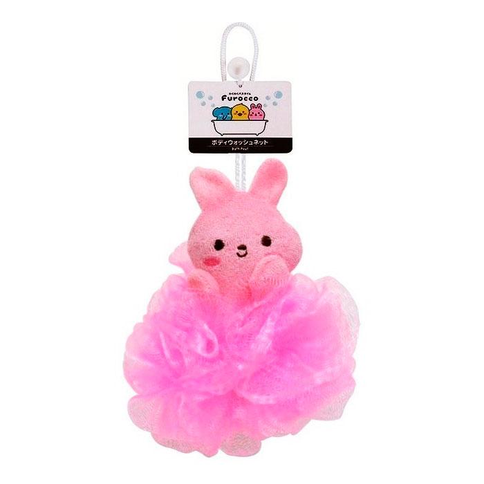 Мочалка массажная Kokubо Furocco Розовый Кролик (Kokubo)