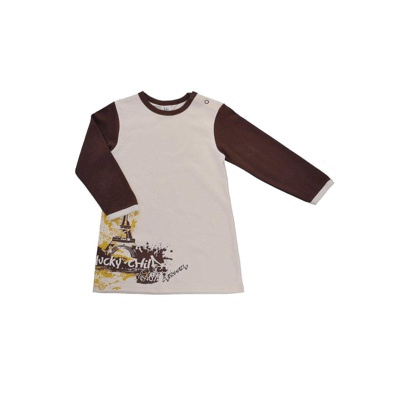 Платье Lucky Child коллекция Город Размер 74<br>