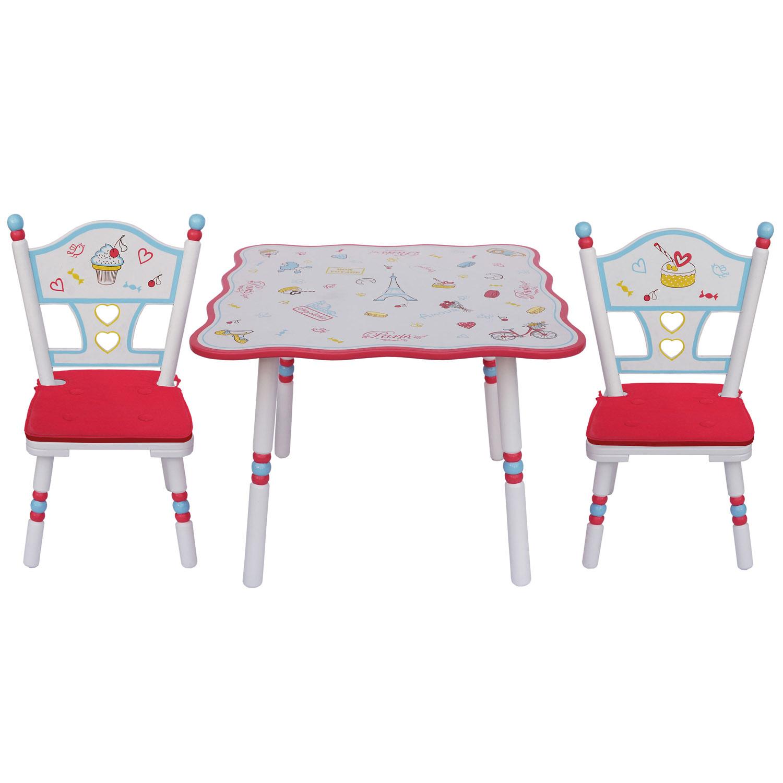 Комплект из стола и двух стульев Major-Kids Paris<br>