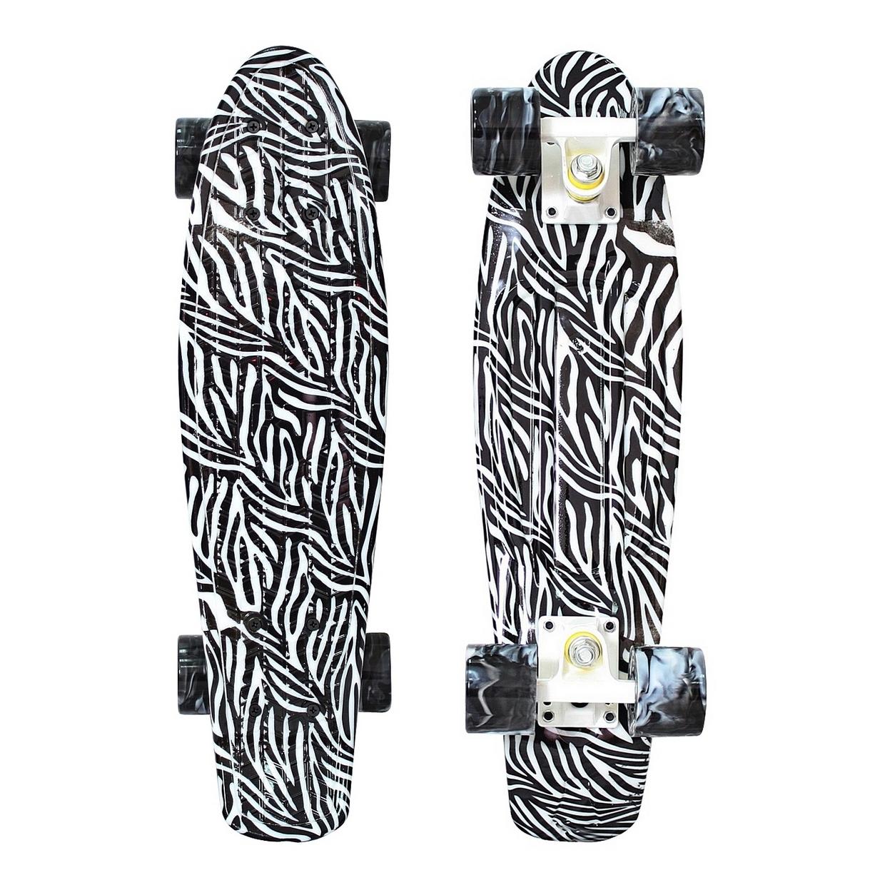 ��������� Y-Scoo Penny board Print Zebra
