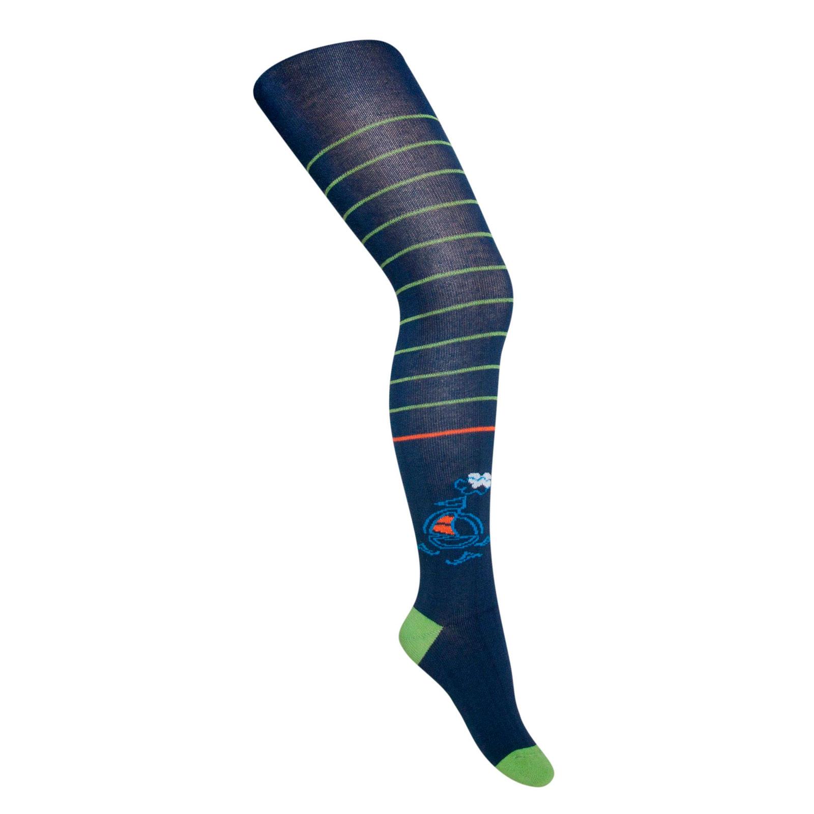 Колготки Para Socks с рисунком K1D37 р 86-92 синий<br>