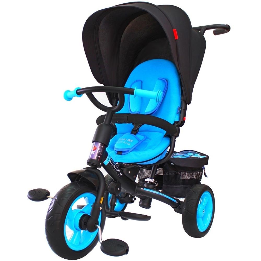 Велосипед RT ICON evoque NEW Stroller by Natali Prigaro EVA Blue topaz<br>