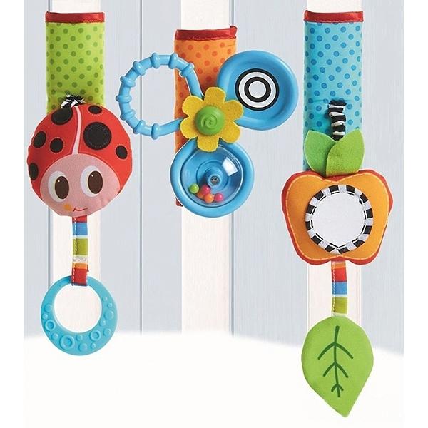 Развивающая игрушка Tiny Love Летняя поляна на липучке (490)<br>