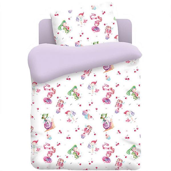 Комплект постельного белья детский бязь Непоседа КДН-1 Маленькие феечки<br>