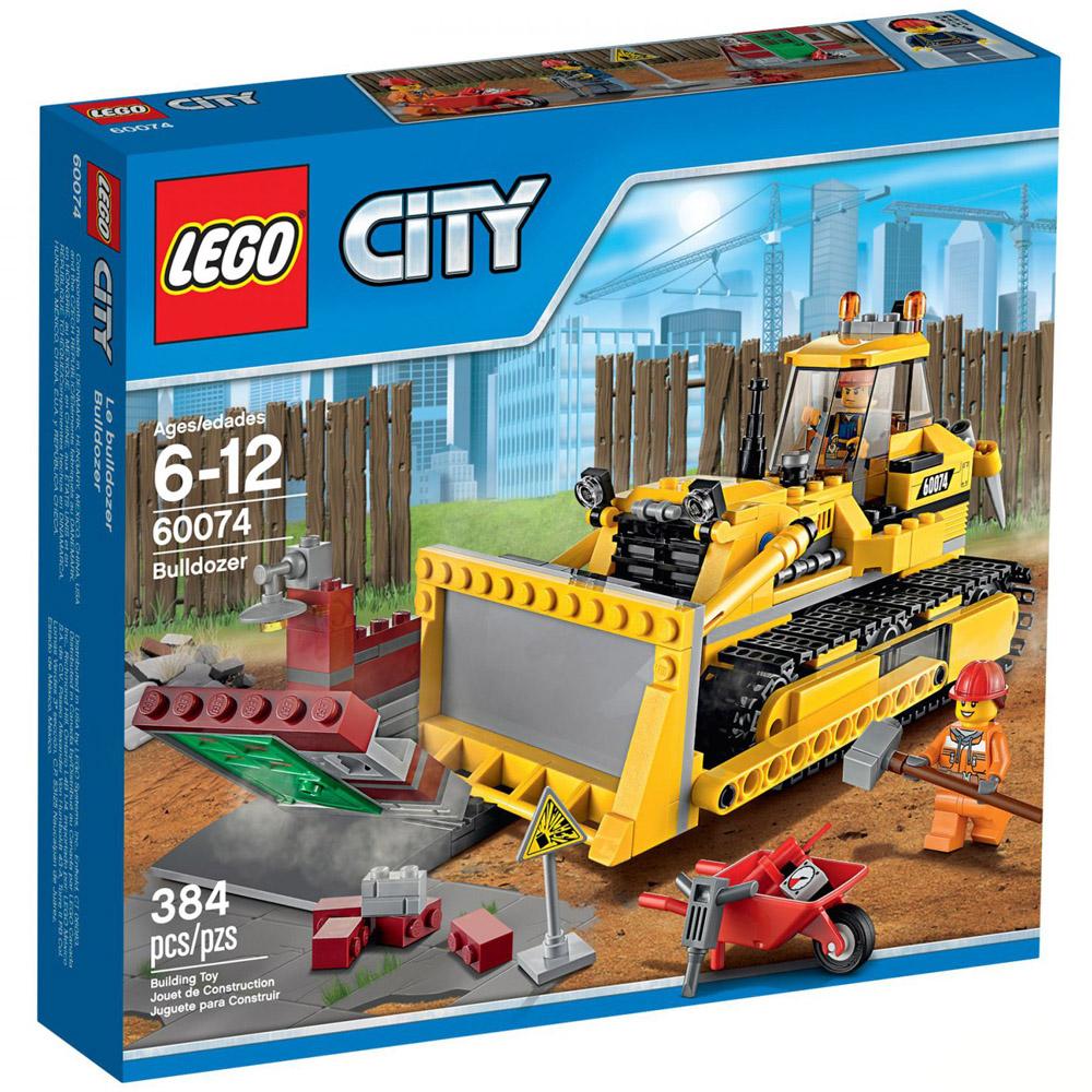 Конструктор LEGO City 60074 Бульдозер<br>