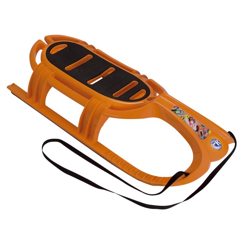 Санки KHW Snow Tiger de Luxe Оранжевые<br>