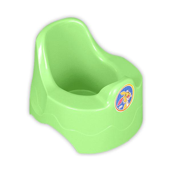 Горшок Радиан с рисунком зеленый<br>