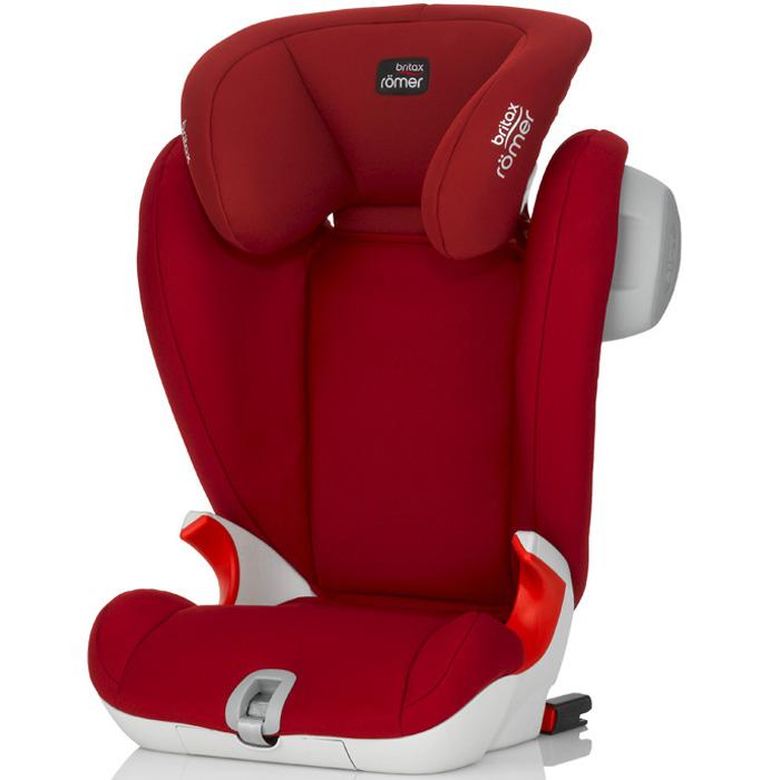 Автокресло Britax Romer Kidfix SL SICT Flame Red Trendline<br>