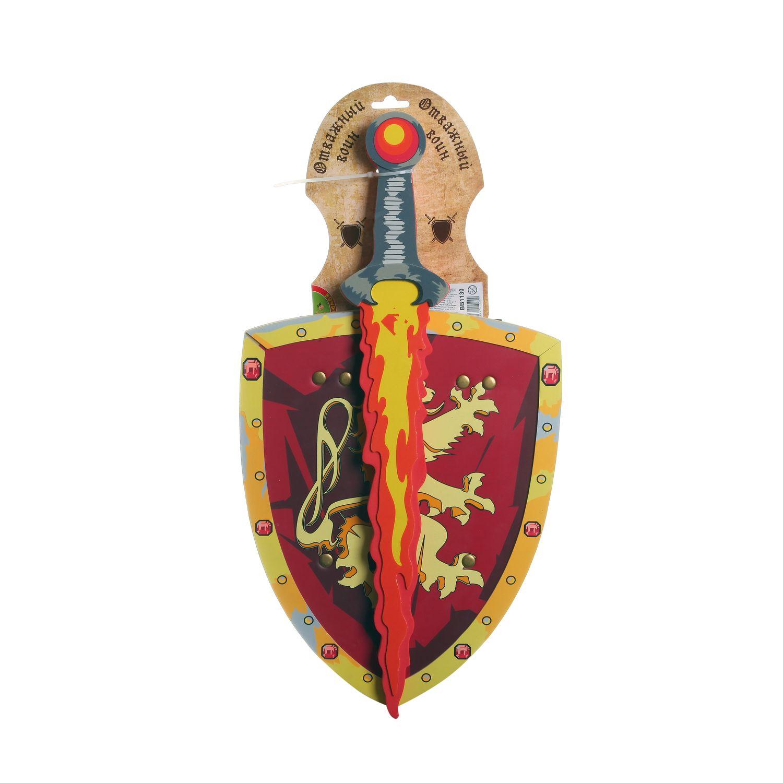 Оружие мягкое Bondibon Отважный воин Щит и меч 8009SZ+8001LH<br>