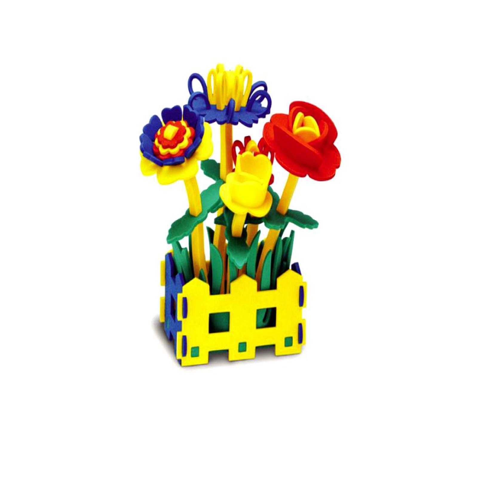 Конструктор Флексика Набор цветов