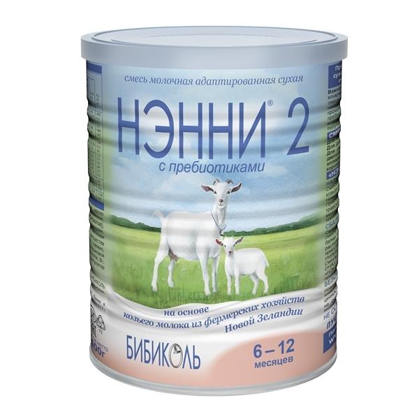 Заменитель Нэнни на основе козьего молока 400 гр №2 (с 6 мес)<br>