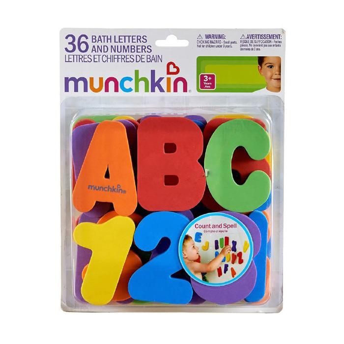 Игрушка для ванны Munchkin Буквы и цифры от 12 мес.<br>