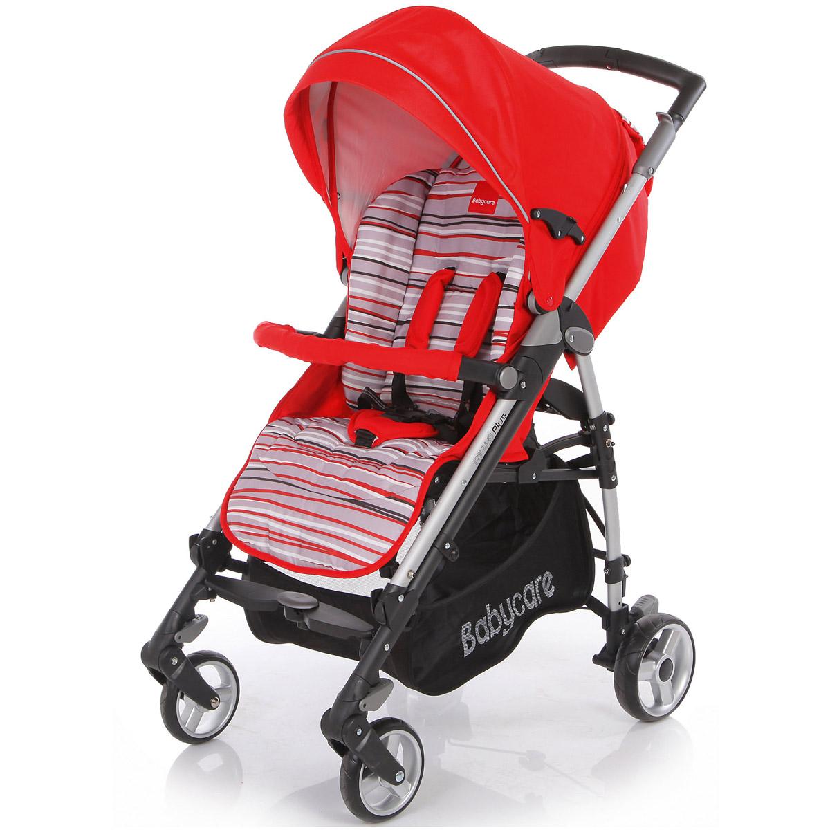 Коляска трость Baby Care GT4 Plus Red<br>