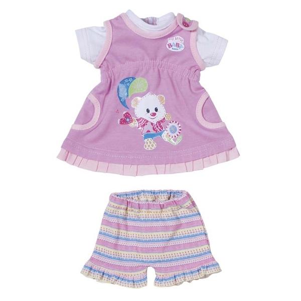 Одежда для кукол Zapf Creation My little Baby Born 32 см Платья (В ассортименте)<br>
