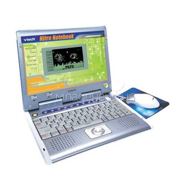 Обучающий компьютер VTECH Nitro Notebook (2 дополнительных картриджа)