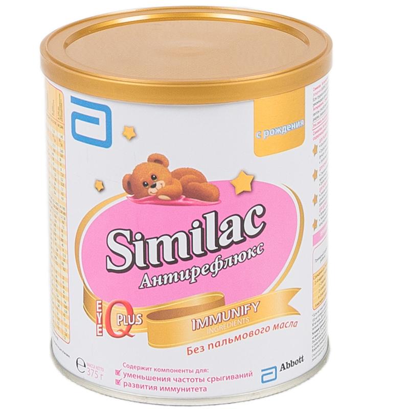 Заменитель Similac Антирефлюкс 375 гр с 0 мес