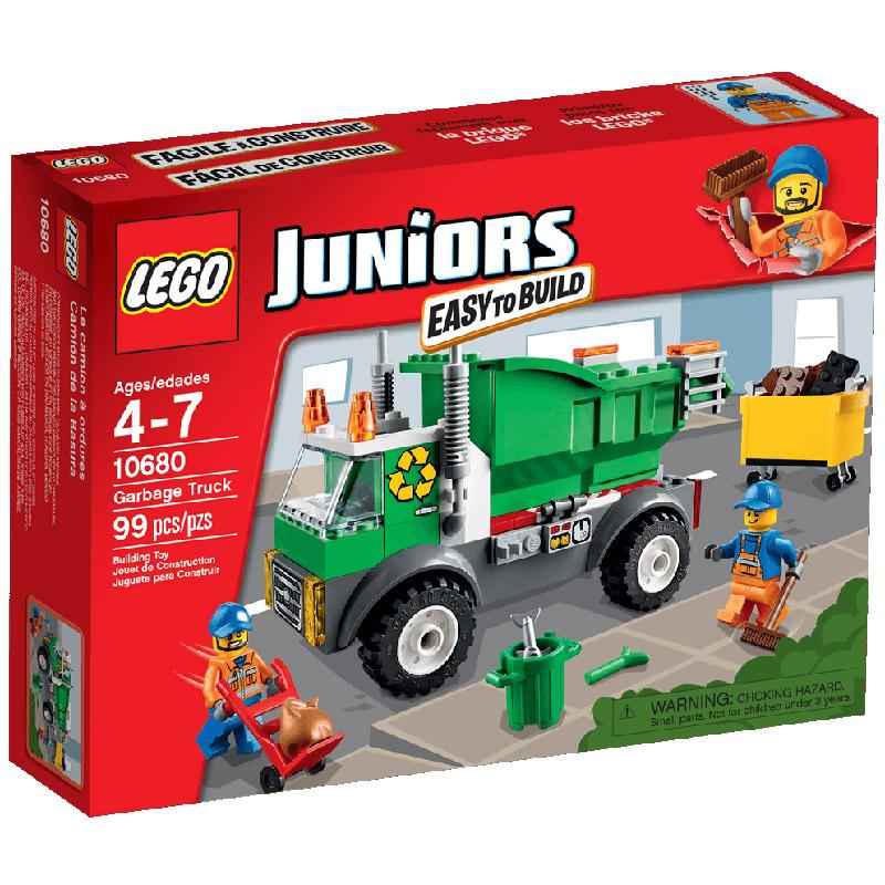 Конструктор LEGO Junior 10680 Мусоровоз<br>