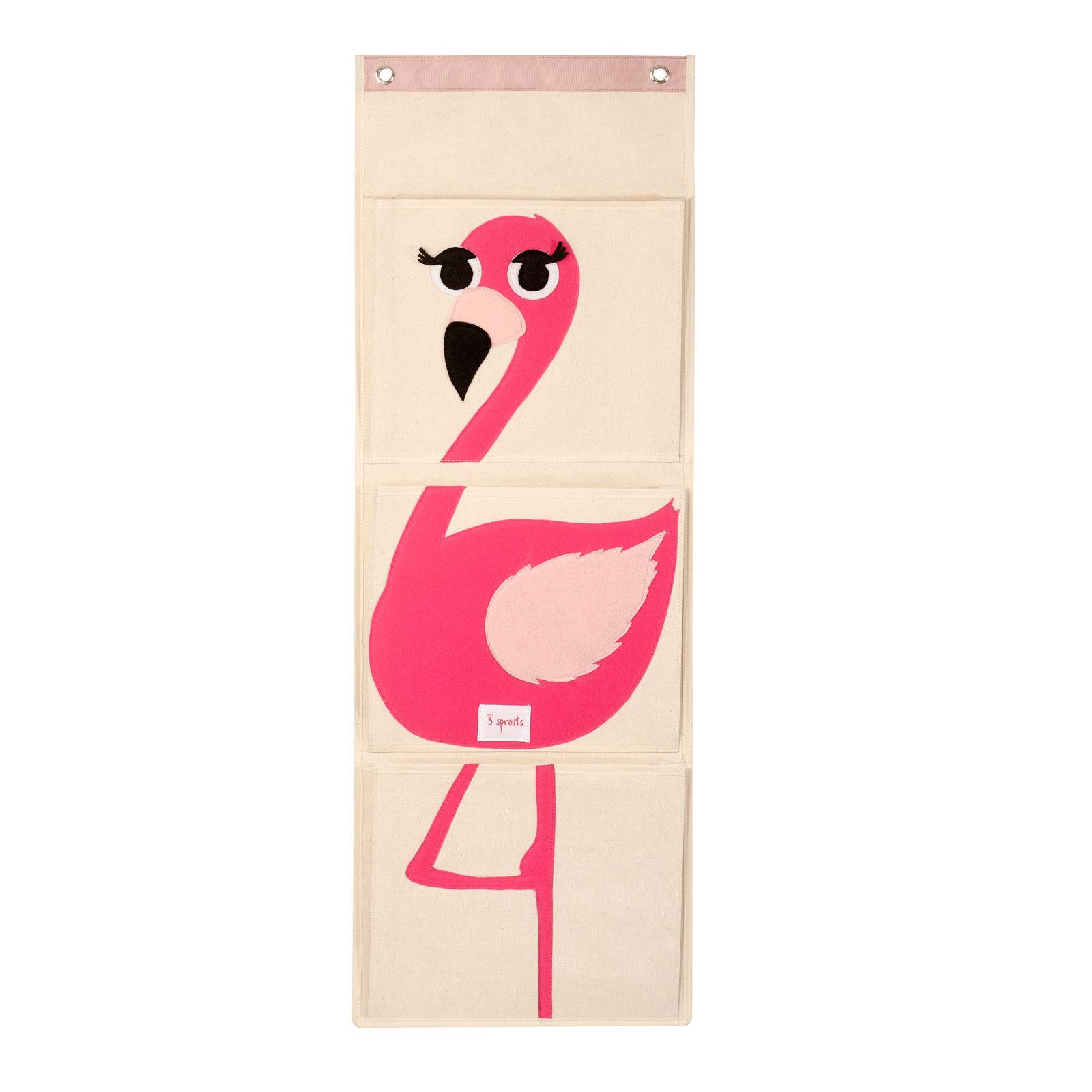 Органайзер на стену 3 Sprouts Фламинго (Pink Flamingo) Арт. 67411<br>