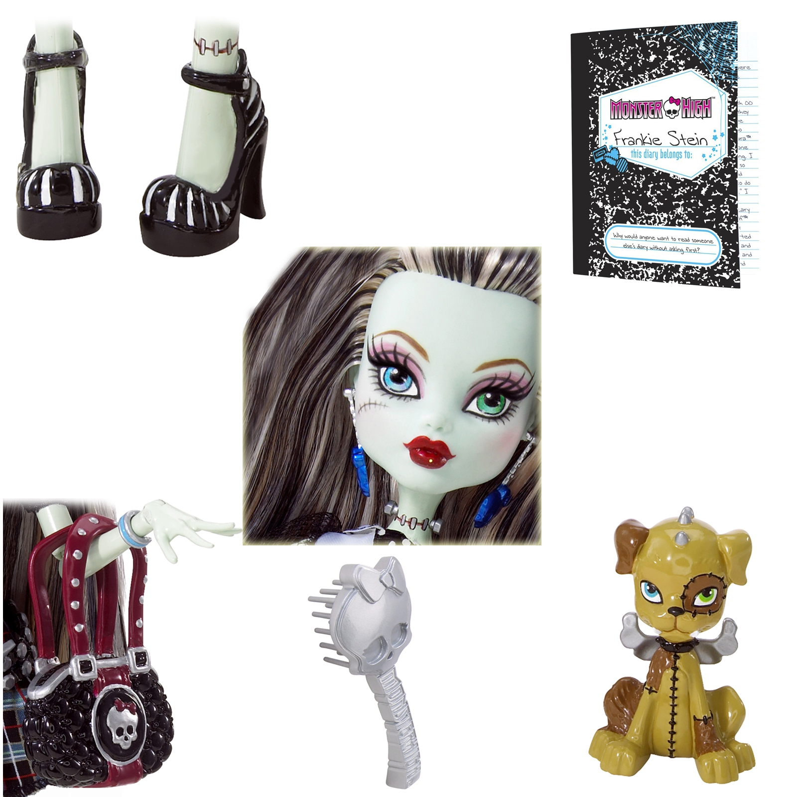 ������� ����� Monster High ����� �������� Frankie Stein