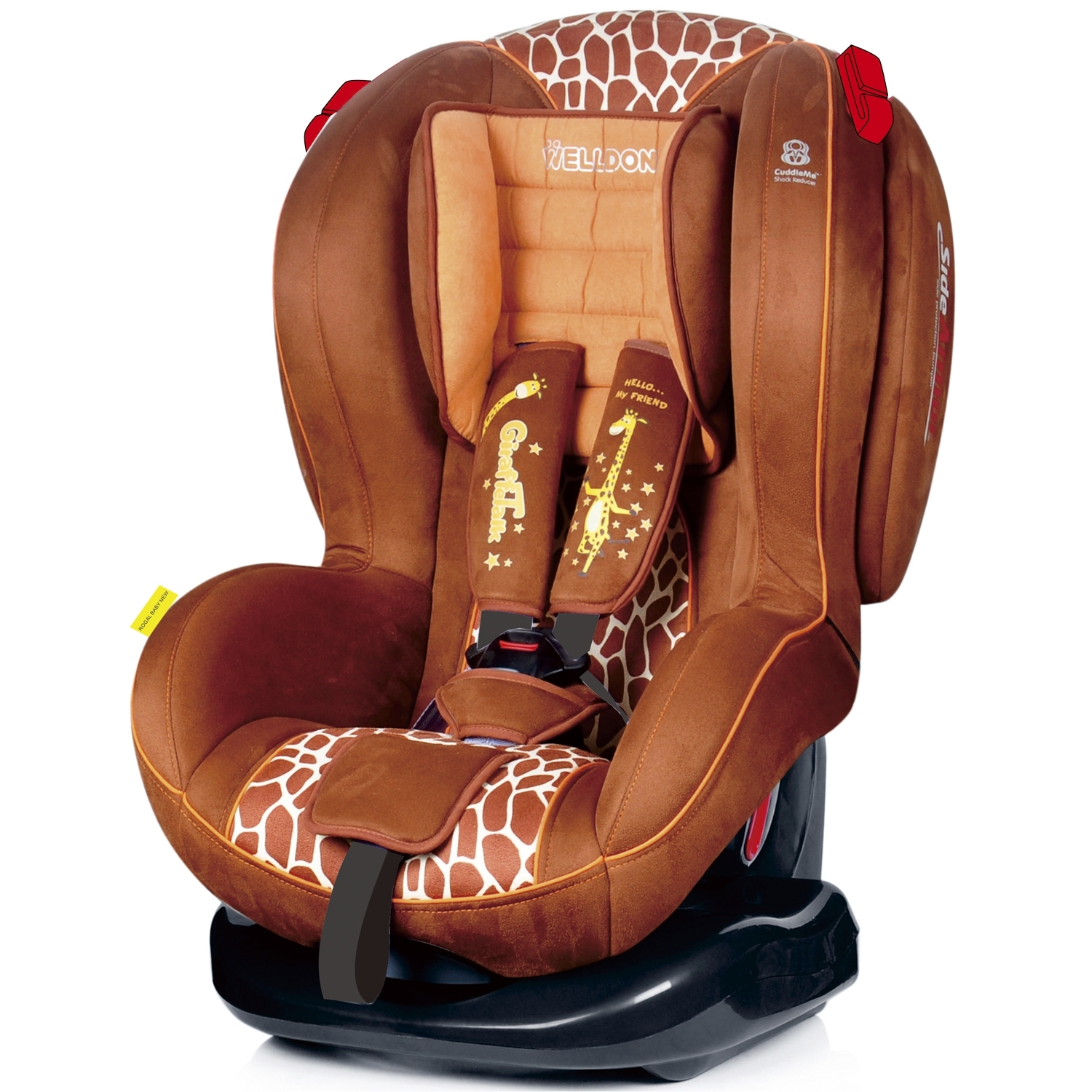 ���������� Welldon New Royal Baby Side Armor & Cuddle BS02N-BCE Giraffe Talk