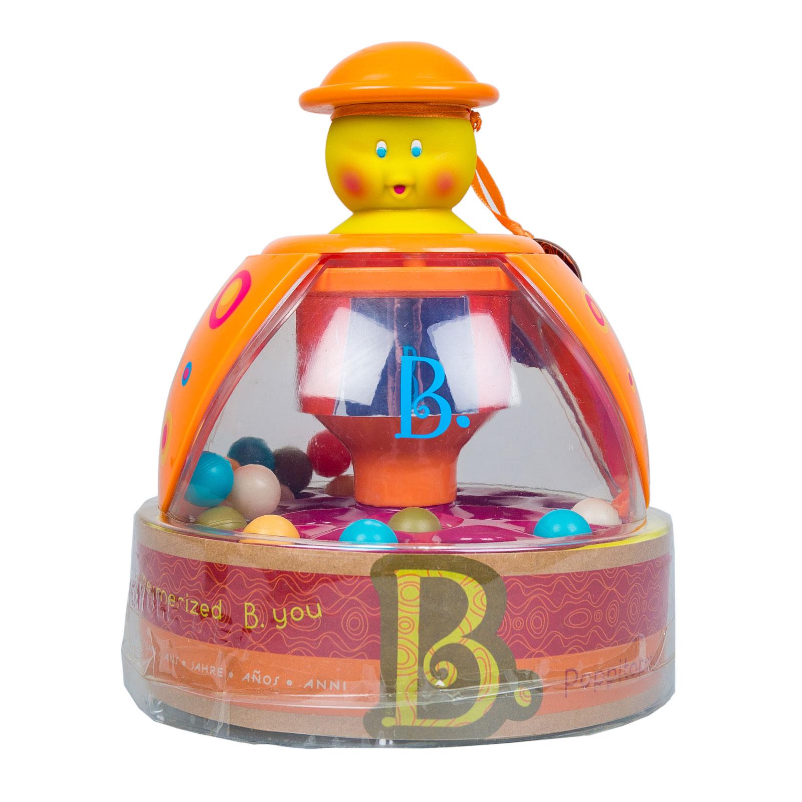 Развивающая игрушка B Dot Прыгающие шарики Poppitoppy от 12 мес.<br>