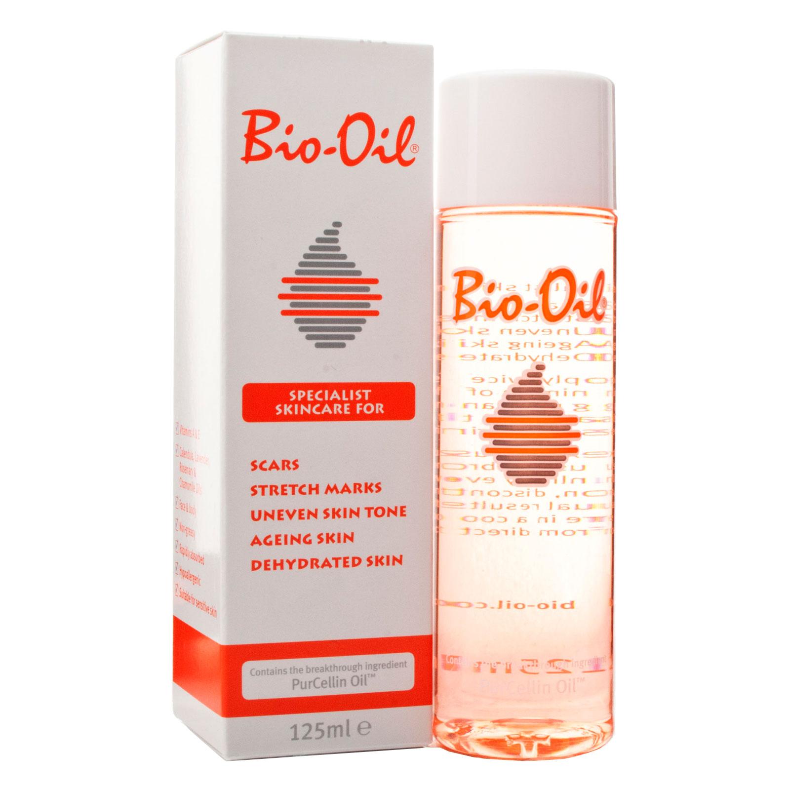 Масло косметическое Bio-Oil от шрамов растяжек неровного тона 125мл<br>