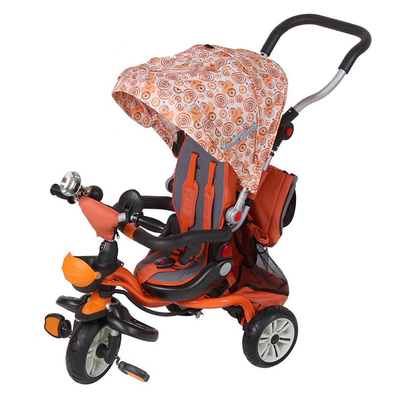Велосипед Mars Trike трехколесный с регулировкой сидения Оранжевый<br>