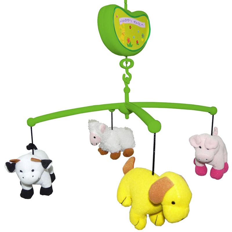 Мобиль Biba Toys музыкальный Счастливая Ферма<br>