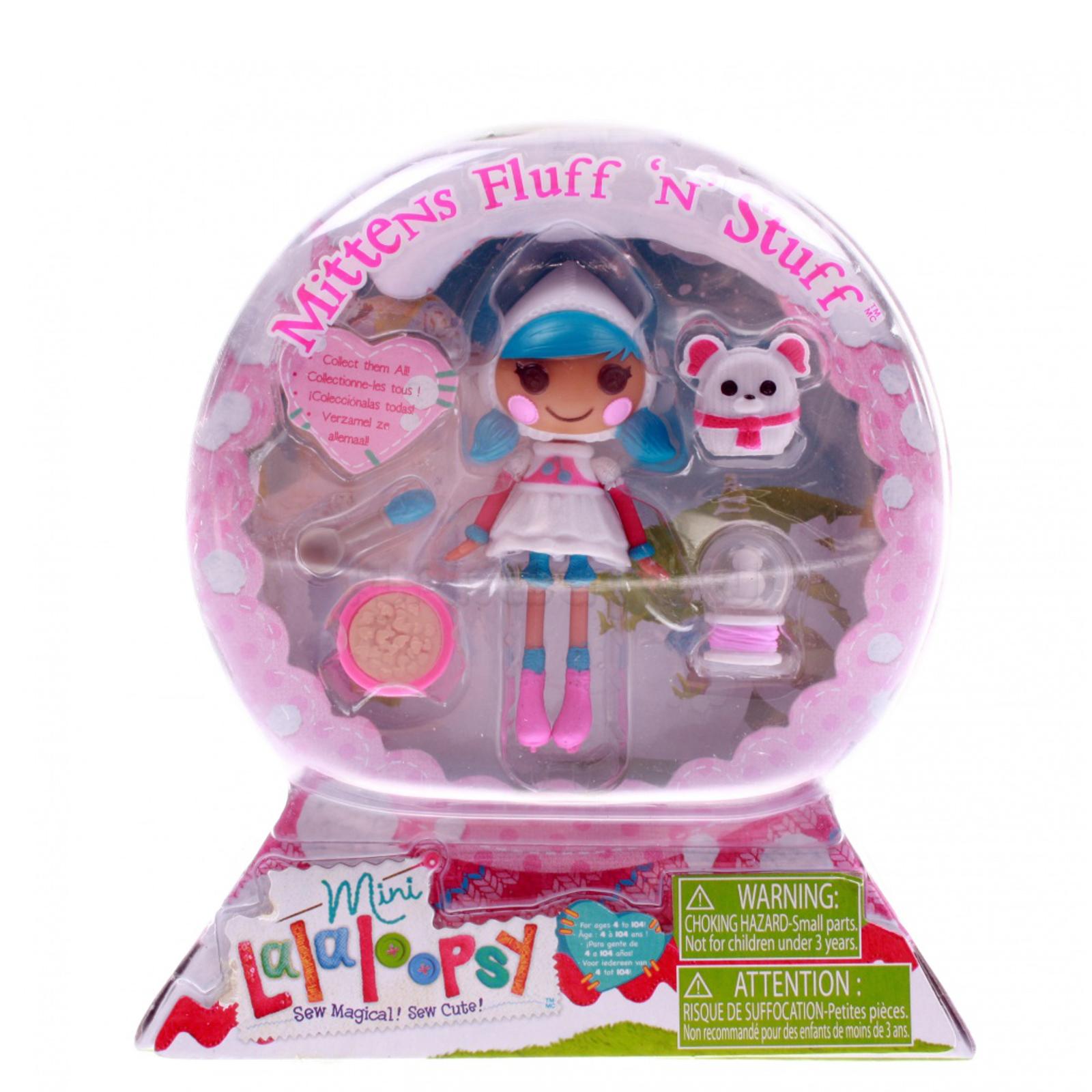 Кукла Mini Lalaloopsy с аксессуарами Mittens Fluff N Stuff