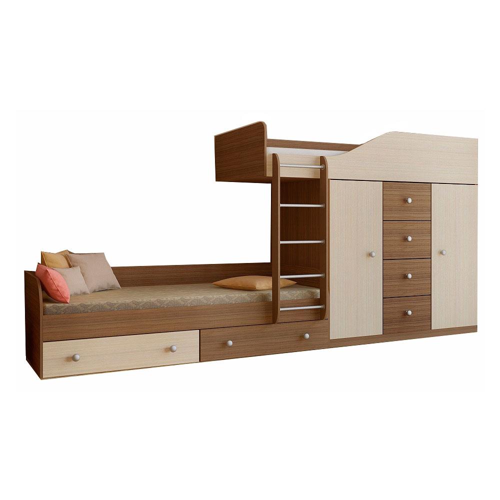 Набор мебели РВ-Мебель Астра 6 Дуб шамони/Дуб молочный<br>