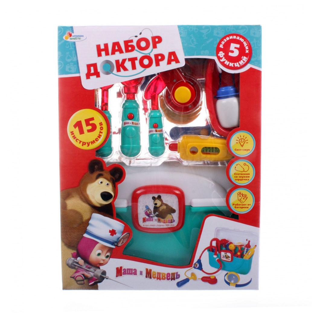 Игровой набор Умка Маша и Медведь набор доктора<br>